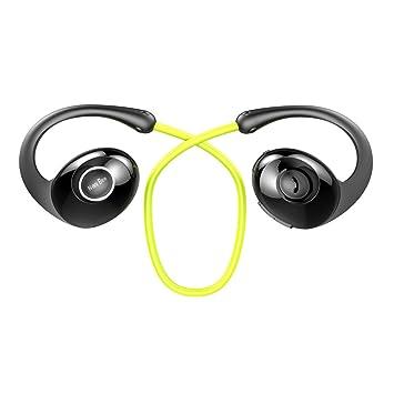 Auriculares Bluetooth, nuevo Bee inalámbrico deporte running podómetro auriculares 4.0 Auricular con micrófono a prueba