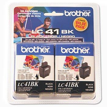 (BRTLC41BK2PKS - Brother LC41BK2PKS Ink )