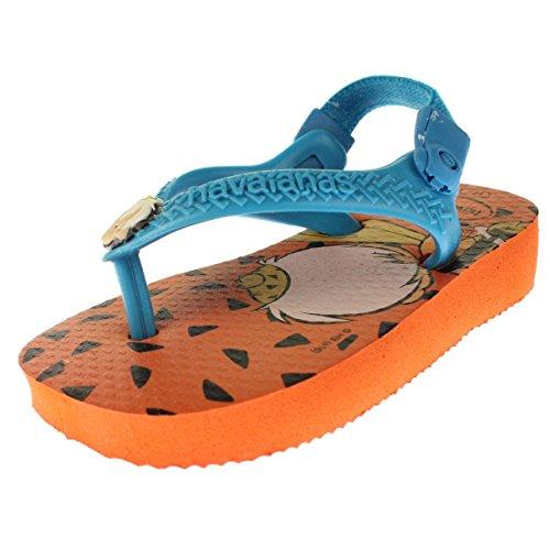 Pictures of Havaianas Kids Flip Flop Sandals, Baby Flintstones, Bamm-Bamm Rubble, (Infant/Toddler) 1