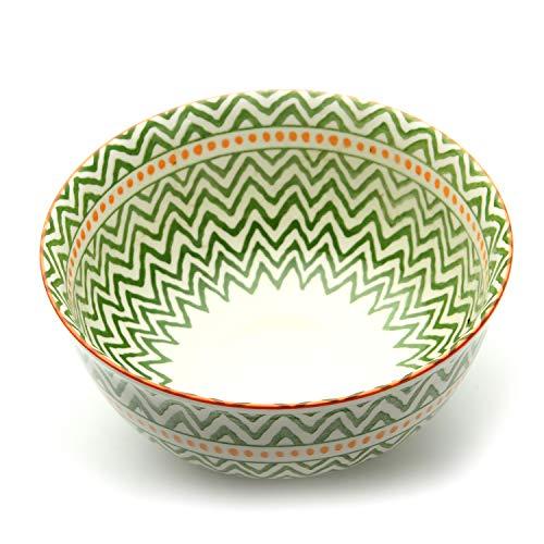 Porcelain Serving Bowls Set for Sauce, Snack, Dessert, Candy, 6 Piece, Microwave Safe (4.5