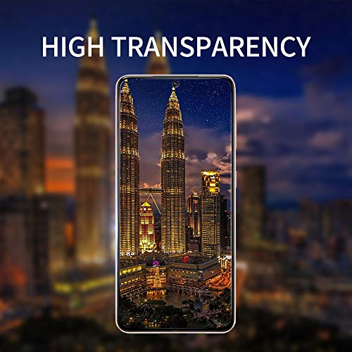 2Pack GOBUKEE for Samsung S21 Ultra Tempered Glass Screen Protector,HD Clear,9H Hardness,Scratch Resistant,Installation Video for Fingerprint for Galaxy S21 Ultra 5G (2021)