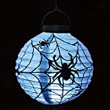 1Pcs lot Halloween Decoration LED Paper Pumpkin Hanging Lantern Light Lamp Halloween Decoration for Home Horror Lantern Supplies Halloween Projection Lamp