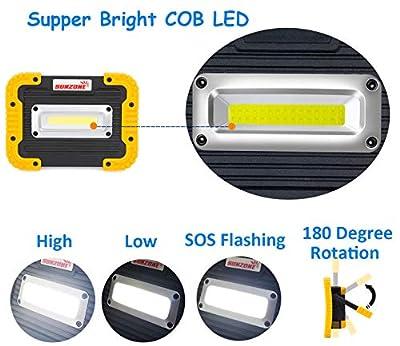Portable LED COB Work Light
