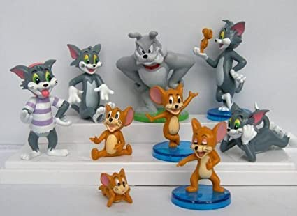 The Tom and Jerry Cat Mouse Collectible Action Figure
