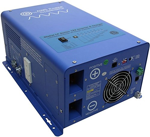 AIMS Power PICOGLF20W12V120V Pure Sine Low Frequency Inverte