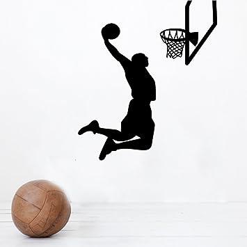 Vinilo Bola Desmontable Sports Wallpaper MVP Jugador De Baloncesto ...