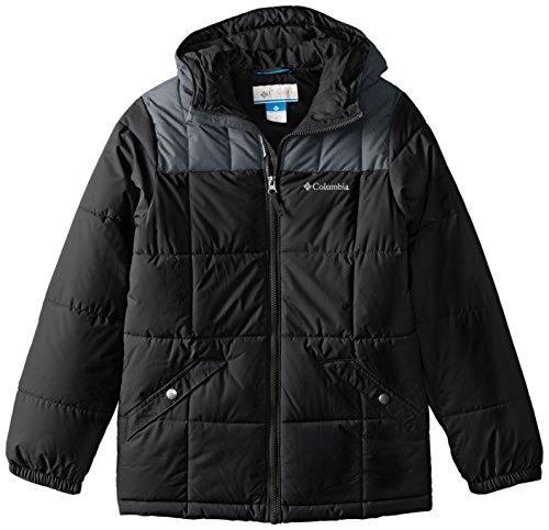 Columbia Big Boys' Gyroslope Jacket, Black, Large
