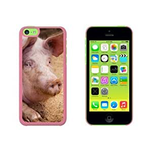 Big Fat Happy Pig Snap On Hard Protective For Ipod Touch 4 Phone Case Cover - Pink