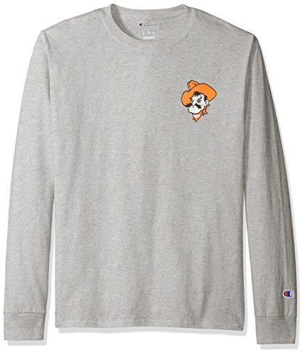 NCAA Oklahoma State Cowboys Men's Champs Long Sleeve T-Shirt, X-Large, Oxford