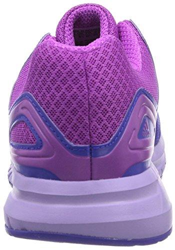 adidas Duramo 6 W - Zapatillas de running para mujer, color rojo / negro / blanco