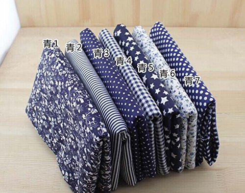 7-pc-cloth-fabric-cotton-fabric-for-quilting-5050cm-dark-blue-series