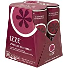 IZZE Fortified Sparkling Juice, Blackberry (4 Count, 8.4 Fl Oz Each)