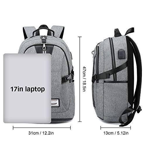 a0958f0b166 ... Anti Theft Laptop Backpack Bag with USB Charging Port