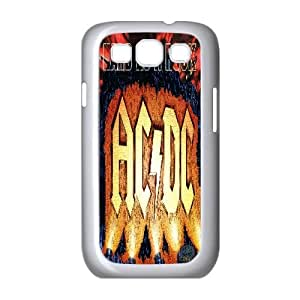 ACDC Samsung Galaxy S3 I9300 Cell Phone Case, ACDC Personalized Phone Case, Samsung Galaxy S3 I9300 Customized Case