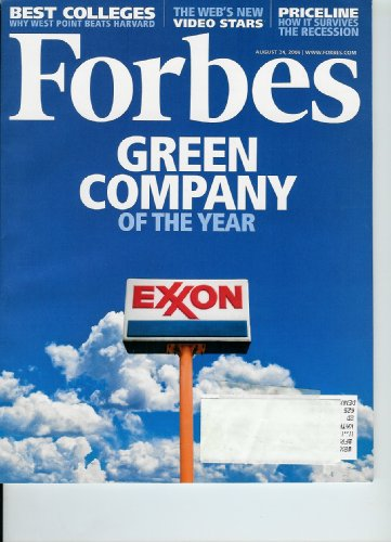 forbes-magazine-exxon-mobil-green-company-of-the-year-august-24-2009-volume-184-number-3