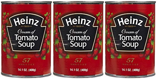 - Heinz Cream of Tomato Soup, 13.5 oz, 3 pk