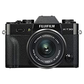 Fujifilm X-T30 Mirrorless Digital Camera w/XC15-45mm F/3.5-5.6 OIS PZ Lens, Black (B07NQ8MQXN) | Amazon price tracker / tracking, Amazon price history charts, Amazon price watches, Amazon price drop alerts