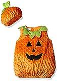 Mud Pie Baby Halloween Costume Unisex, Pumpkin, 0-18 MOS