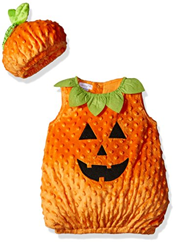Mud Pie Baby Halloween Costume Unisex, Pumpkin, 0-18 (2017 Toddler Girl Halloween Costumes)