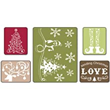 Sizzix Textured Impressions Embossing 5 Folders