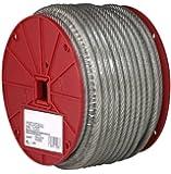 Galvanized Steel Wire Rope, Vinyl Coated, 7x7 Strand Core