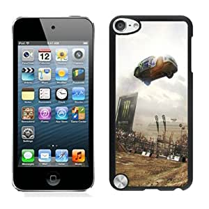 Easy Set,Game Case with Dirt Car Jump Show Audience Ipod Touch 5th Phone Case in Black