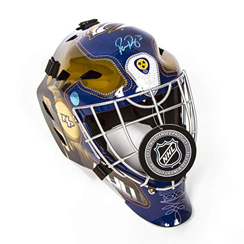 Pekka Rinne Nashville Predators Autographed Franklin SX Comp GFM Goalie Mask ()