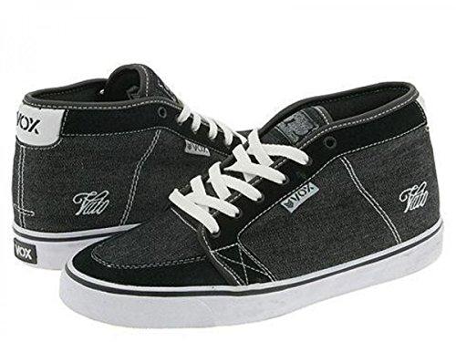 Vox Skateboard Schuhe Vato Black/white Jeans