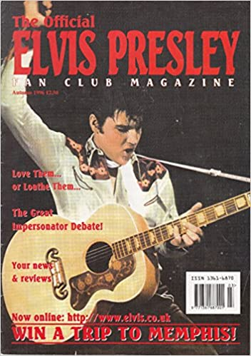 Book The Official Elvis Presley Fan Club Magazine, Autumn, 1996