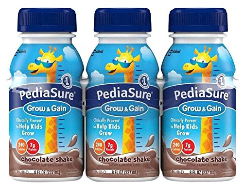 Pediasure Regular Nutrition Drink Bottles - Chocolate - 8 oz - 24 pk