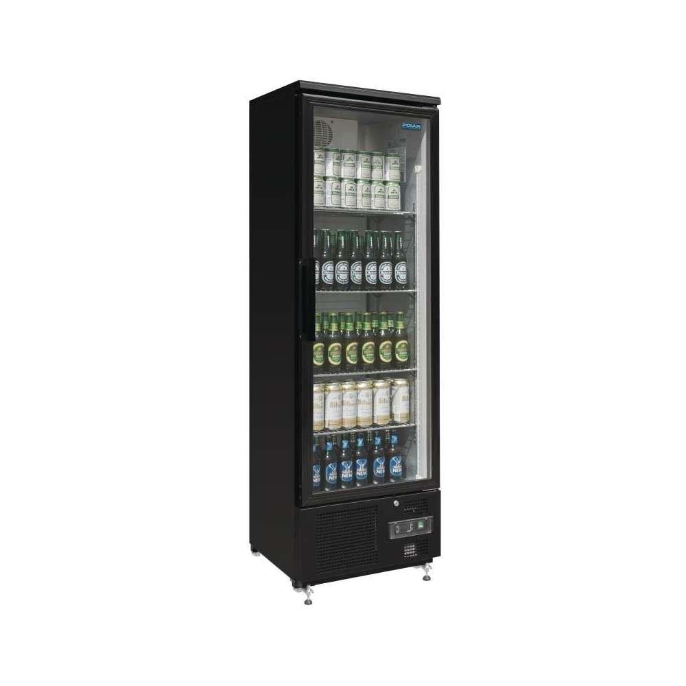 Polar gj447 Cooler, vertical Back Bar, sola puerta, 307 L): Amazon ...