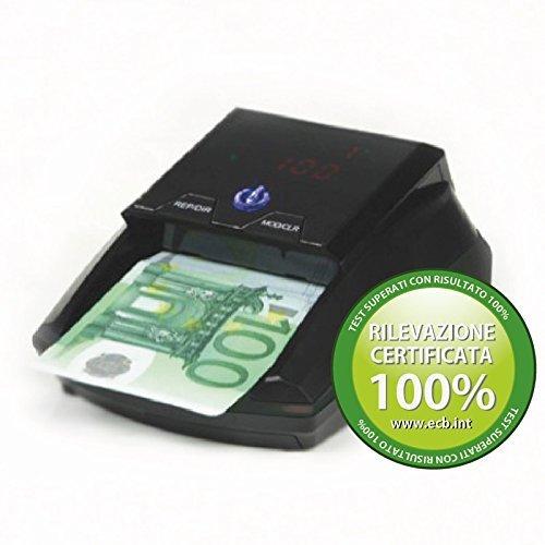 Detectalia D7M - Automatische Geldprüfer Geldprüfgerät Banknotenprüfer und Falschgeldprüfer