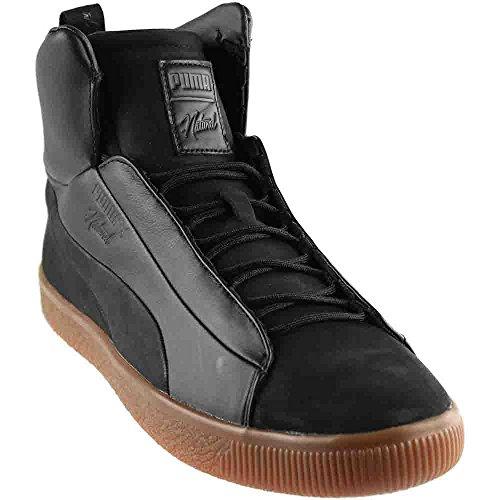 PUMA Unisex x Naturel Clyde Fashion Mid Sneaker Black 10.5 Women/9 Men M US Yv0WBGafOG