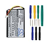 Cameron sino 1100mAh Li-ion Rechargeable Battery 361-00056-01 Replacement For Garmin Nuvi 65 65LM With Tools Kit