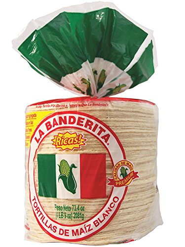La Banderita Corn Tortilla, 80ct Each Pack - 2 Pack Case