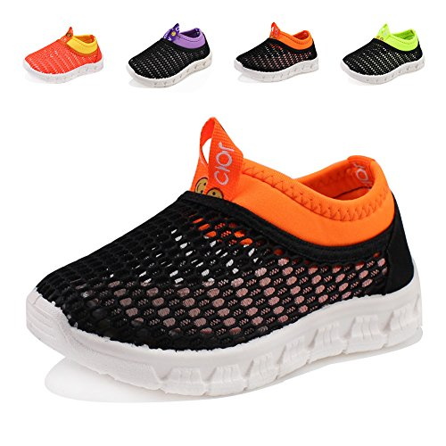 04. CIOR Kids Casual Shoes Breathable Slip-on Sneakers For Walking Running Toddler / Little Kid / Big Kid