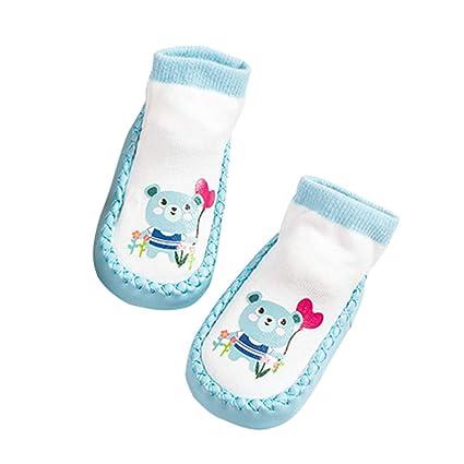 Infantil del niño del bebé Calcetines animal de la historieta antideslizante antideslizantes calcetines del piso calcetines
