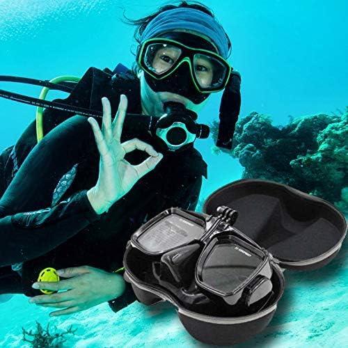 Uzinb Buceo M/áscara de Buceo Caso para M/áscara de Buceo Submarino de Protecci/ón Caja de Almacenamiento