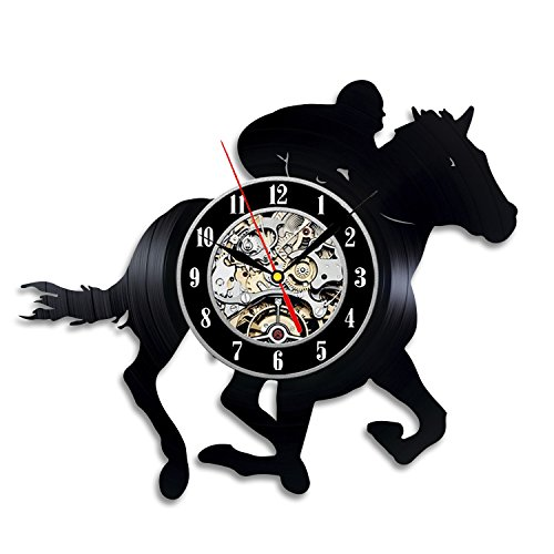 Rider regalo reloj de pared Vinyl Record Arte Decoración clásico