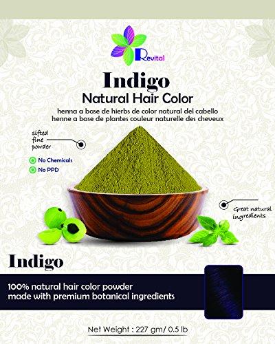 indigo dye hair - 5