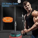 YYBF-Tricipiti-Cable-Pulley-SystemAvambraccio-Pulley-System-Polso-Roller-Braccio-Forza-Trainer-Palestra-per-CasaAllenamento-della-del-Braccio
