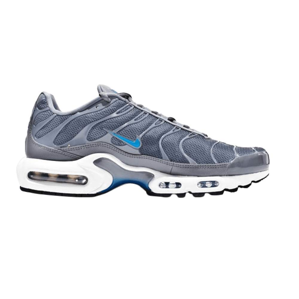 timeless design 9115a bceaf NIKE Men s Air Max Plus Se Fitness Shoes, Multicoloured (Cool Grey Photo  Blue 002), 10 UK  Amazon.co.uk  Shoes   Bags