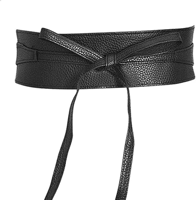 Cintura FUSCIACCA cinta Donna FASCIA LARGA PELLE scamosciata jeans colori moda