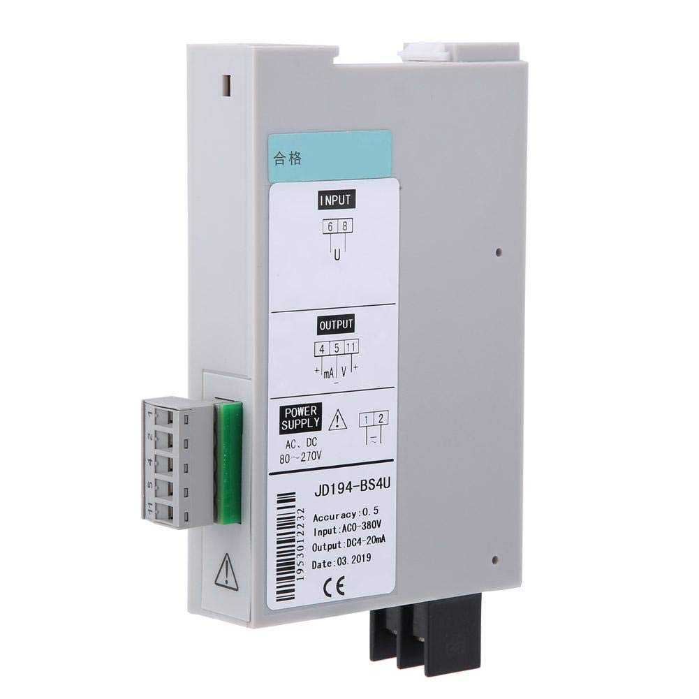 JD194-BS4U 35mm 0.5 Grade Single Phase Current Transmitter,Single Phase Alternator Applied to Rail Mounted Instruments,Single Phase Voltage,Current Measurement for Measuring Voltage Current Signal