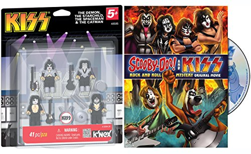 Scooby-Doo! & KISS: Rock & Roll Mystery & Kiss Band Action Figure Bundle Mystery Friends Inc. / Gene Simmons - Lego Frank Rock