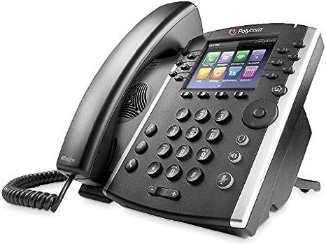 Power Supply Not Included Polycom OBI Edition VVX 450 12-Line Desktop IP Phone 2200-48842-001