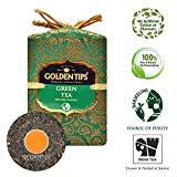 Golden Tips Pure Green Tea Brocade Bag, 100g