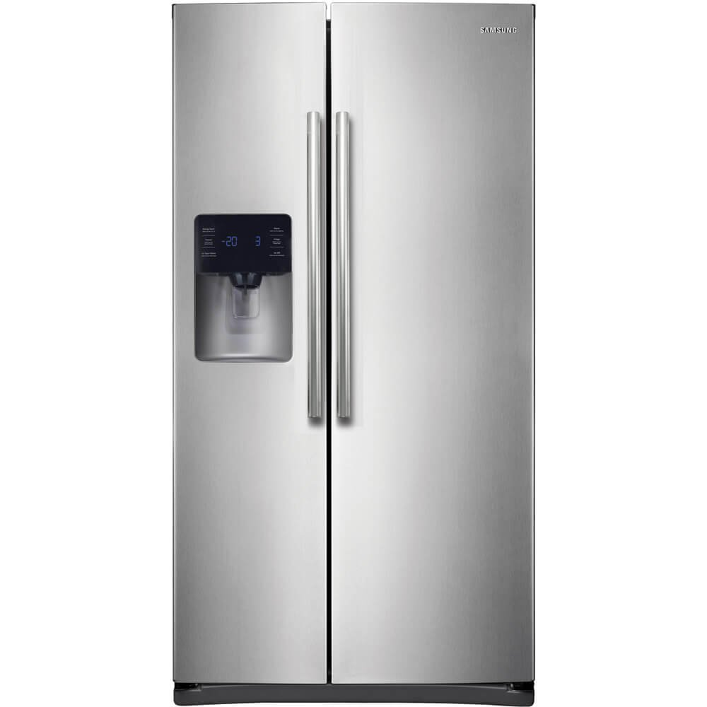 Amazon.com: Samsung RS25H5111SR Energy Star 24.5 Cu. Ft. Side-by ...