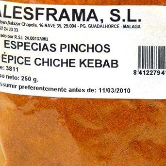ESPECIAS KEBAB - bolsa 1k: Amazon.es: Alimentación y bebidas