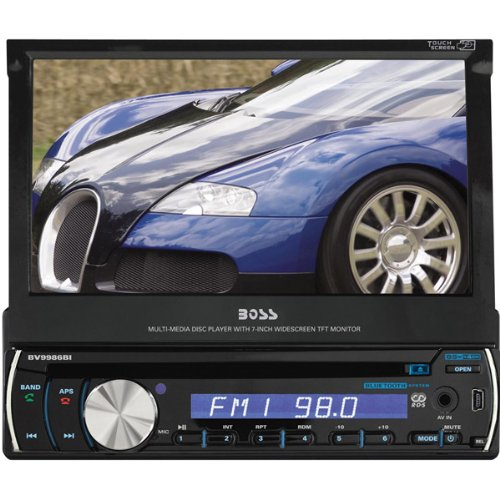 """7"""" Single DIN Touch Screen TFT Monitor AM/FM Receiver"""